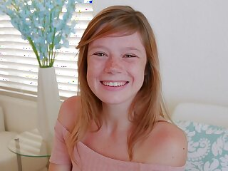 Cute Teen Redhead Round Freckles Orgasms overwrought instrumentality be worthwhile for Found search for POV