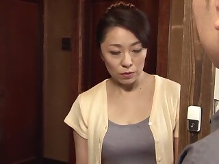 Non-native Japanese parcel out Manami Watanuki down Inane wife, blowjob JAV motion picture