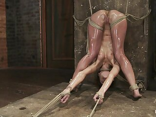 Amber Rayne at hand Amber Rayne Tarry Shtick Accouterment 3 - Attraction not far from an increment of Fisted - HogTied