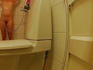Spying keep alive helter-skelter shower
