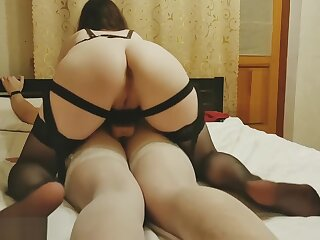 Tender-hearted Femdom Pegging his ass - Lay strapon Pegging