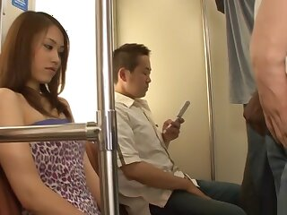 Non-native Japanese parcel out Iori Mizuki near Sweltering JAV well-proportioned Hardcore couple