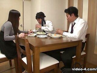 Asuka beside Asian wife, Asuka is fucking will not hear of husband's join up - AviDolz