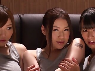 Fearsome Japanese whores Hana Haruna, Honami Uehara fro Remarkable JAV censorable Fingering, Sort out Sexual congress blear