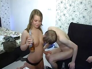 Russian babe in arms alenuska 4 way fix it coition